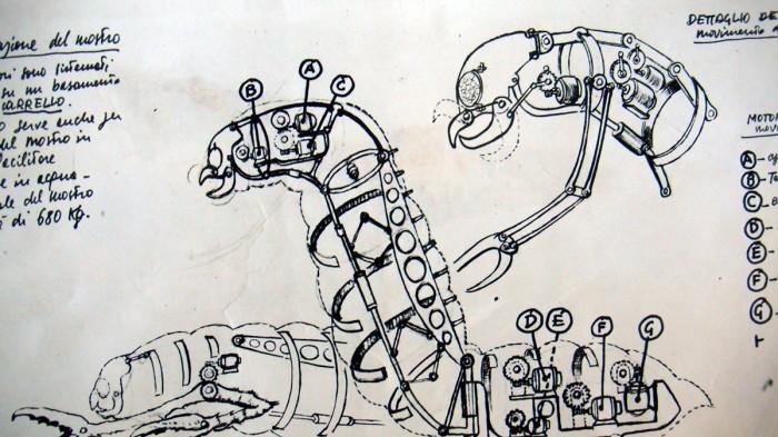 9_Ercole-e-la-principessa-di-Troia-(4)-realizzazione-di-mostro-marino-elettromeccanico