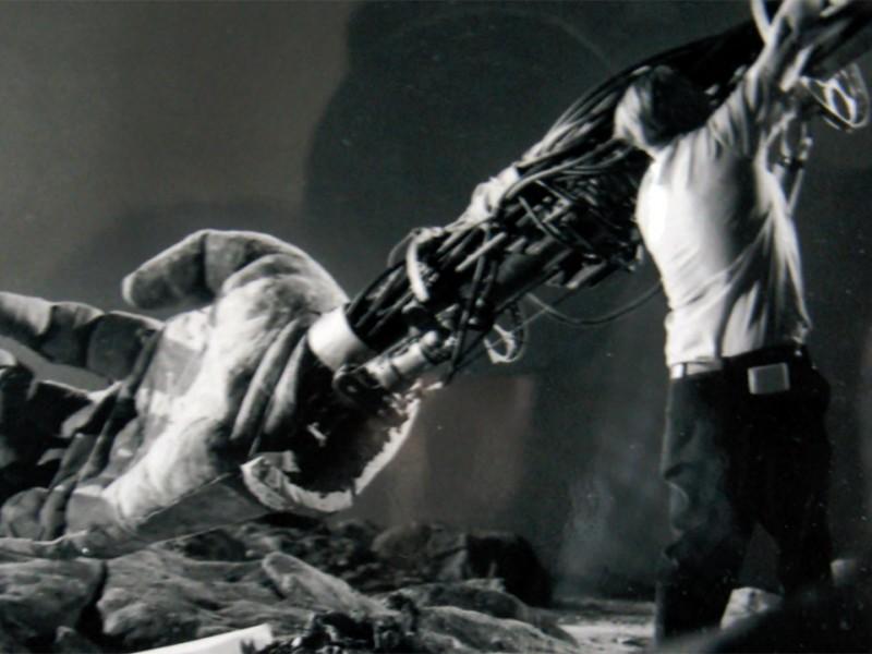 Test sul braccio meccanico di Kong