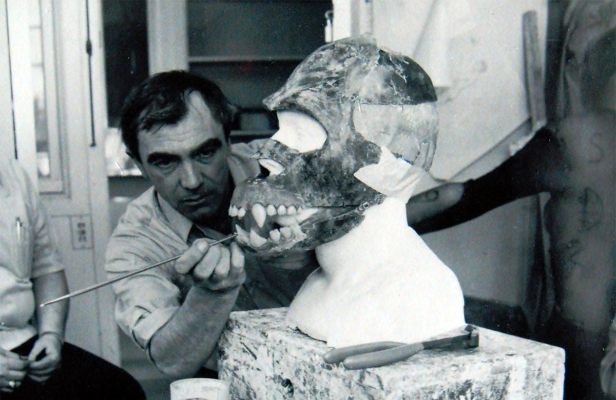 Carlo al lavoro negli studio della MGM