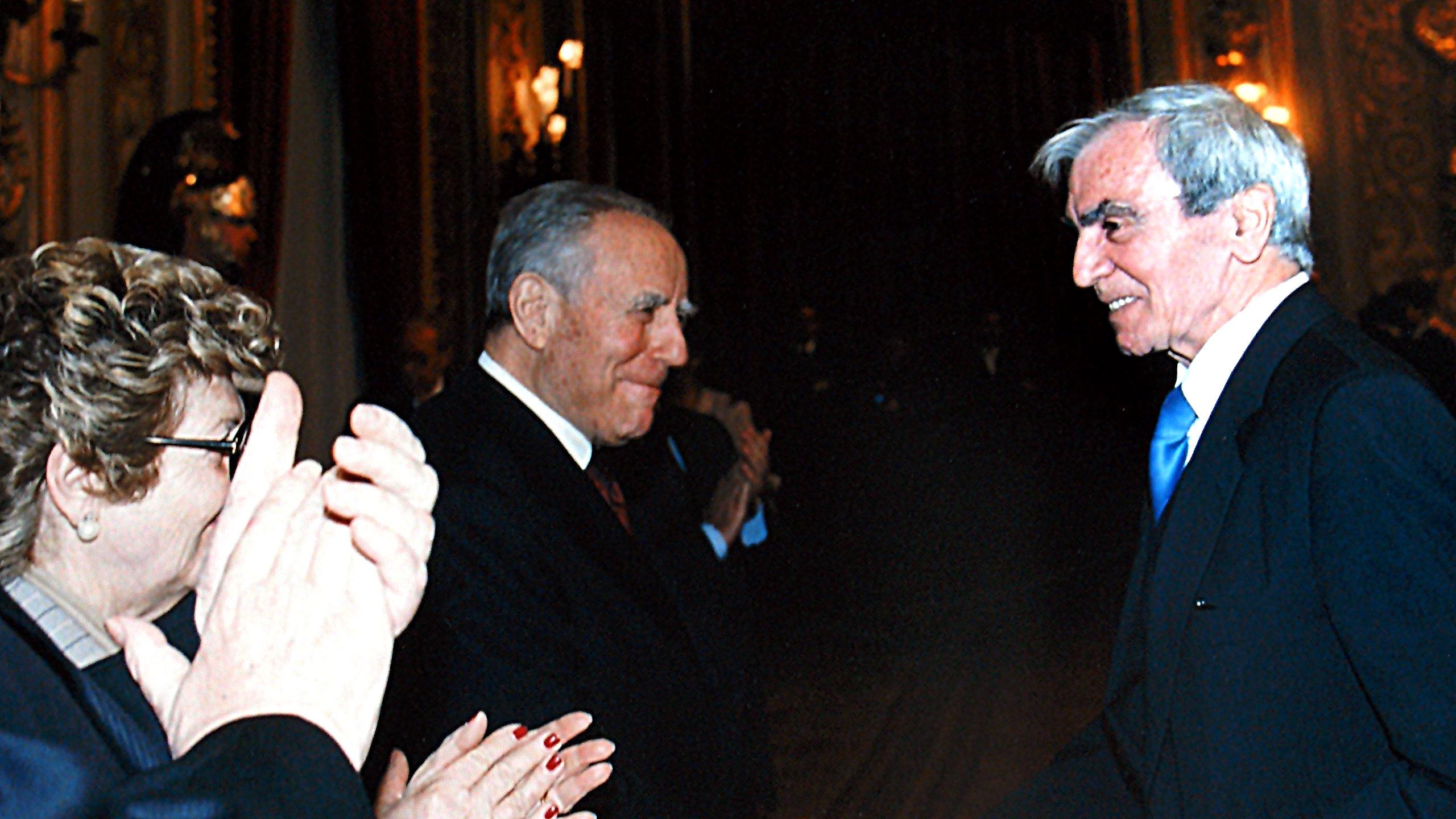 Carlo Rambaldi e Carlo Azeglio Ciampi