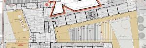 La planimetria del futuro Museo dedicato a Carlo Rambaldi
