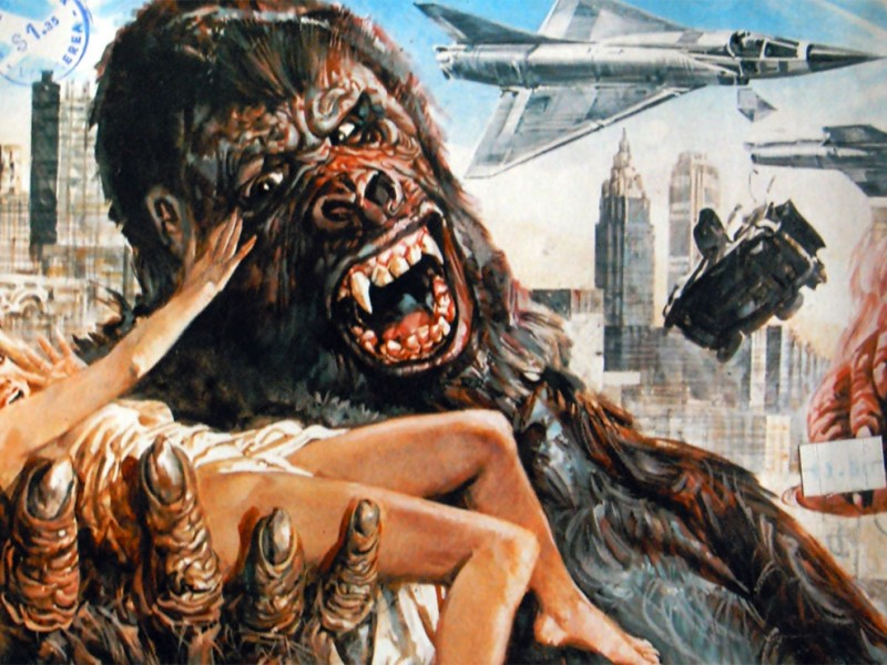 Il poster originale del film King Kong