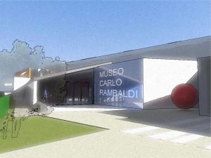 Un disegno del futuro museo dedicato a Carlo Rambaldi