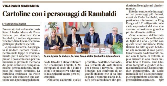 La Nuova Ferrara - 22/05/2017