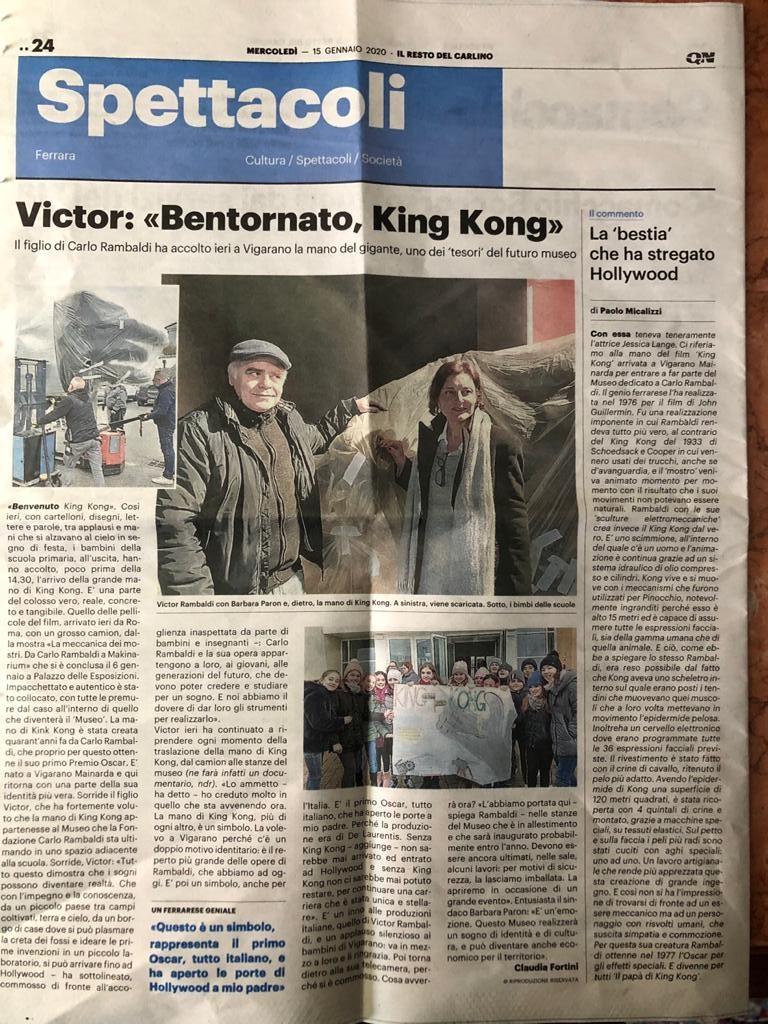 bentornato king kong