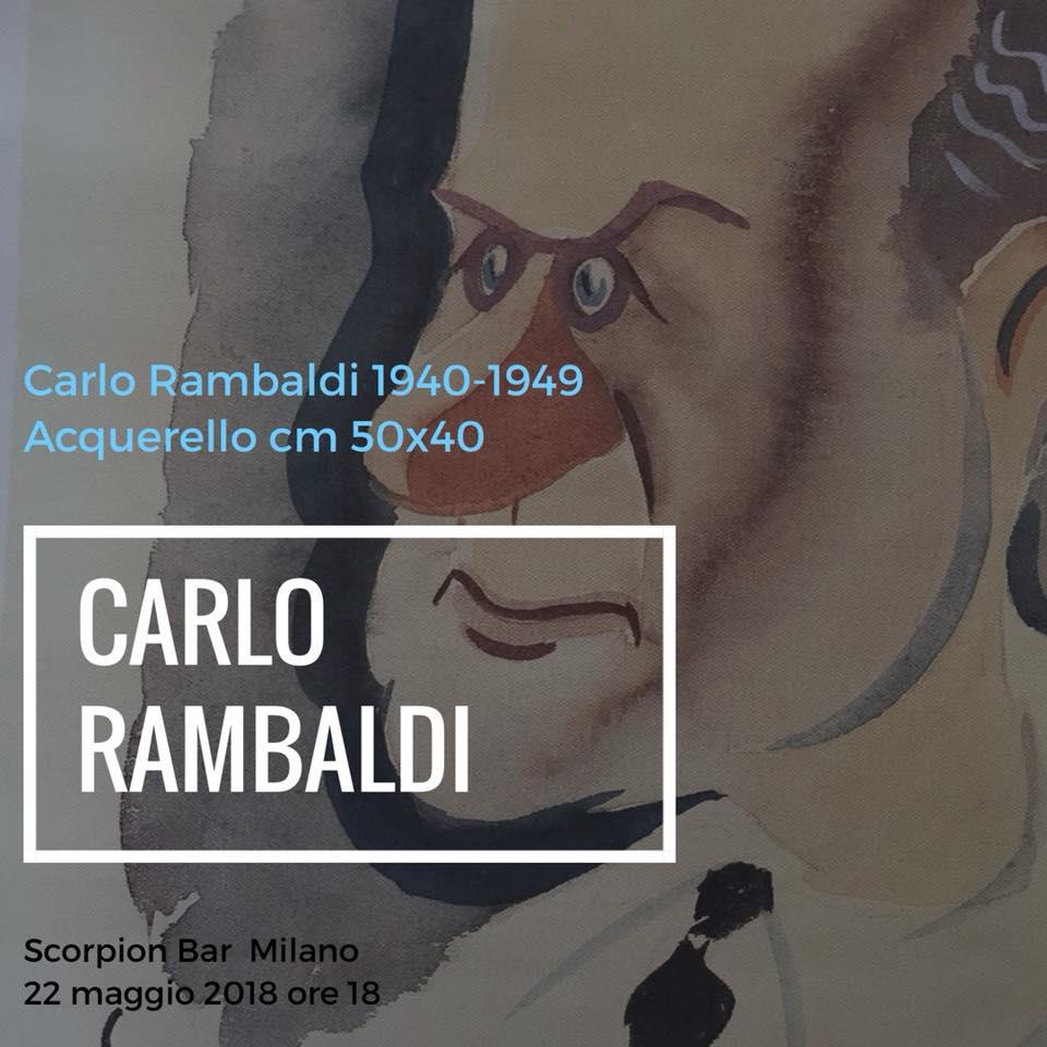 rambaldi - immagine appuntamento scorpion bar milano - rassegna stampa