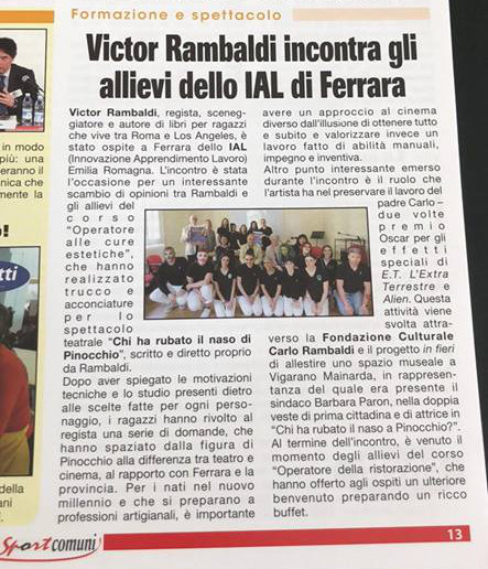 victor - giornale