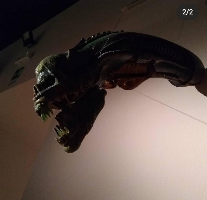 foto alien 3 mostra